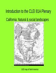 Introduction to CLEI 80 and 81A