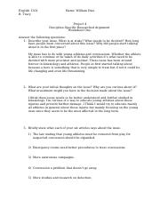 WDIAZProject 4 Worksheet One Engl1301.docx