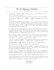 Midterm 7 Solutions