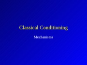 Classical_Conditioning_Mechanisms