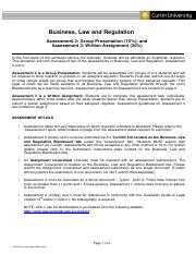 Business, Law and Regulation - Assessment instructions(1).pdf