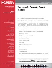 80037025-Hot-To-Guide-to-Quant-Models-NOMURA