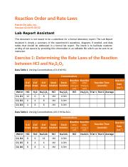 44-0195-00-02 RPT Reaction Order and Rate Laws