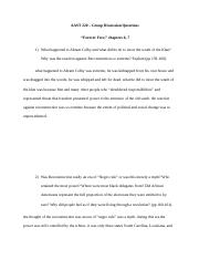 AAST 220 - Forever Free - Group Discussion Questions  Foner ch 6-7 (1).docx