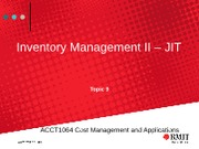 Topic 9 JustInTimeInventoryManagement(1)