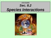 8.2 Species Interactions - LVL2