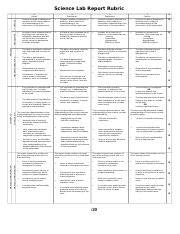 Science Lab Report Rubric.doc