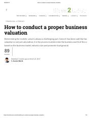 How to conduct a proper business valuation.pdf