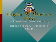 Lecture 1-Electric Force ppt