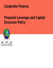 Lecture 6_ Financial Leverage and Capital Structure Policy.pptx