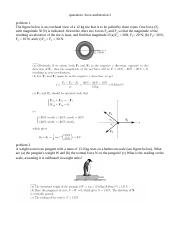 problems and solutions on force and motion I