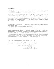 Homework 4 Solution Fall 2013 on Real Analysis