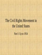 Civil Rights #1 Pre- 1950s.ppt