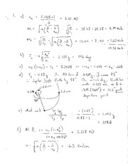 AE202 Final Exam Spring 2009 Solutions