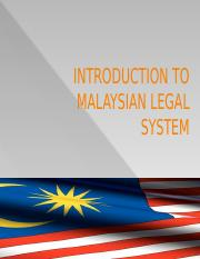 L1 Development and Formal Reception of English Law