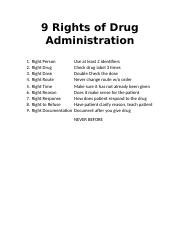 9 RIGHTS OF DRUG ADMIN.docx