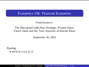 Lecture 09 - Fixed Income I