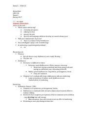 CSD Study Guide 2