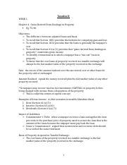 Taxation II- Outline