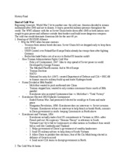 H106- Final Study Guide Word