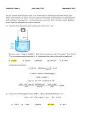 Analytical Chemistry Study Resources