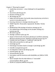 Human resources Chapter 5-8 notes