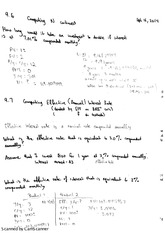 Computing N, Effective Rates, and Equivalent Rates