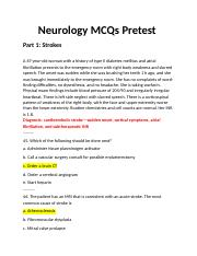 neuro-pretest-answers
