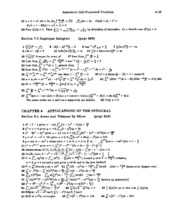 Calculus Solutions 14