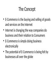 Consumer Behaviour in E-Market Place and Social Network Sites