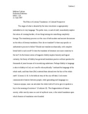ENGL 123 term paper final draft