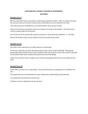 Supplimentary Turorial (Taxation of Partnerships)  (QUESTIONS).docx