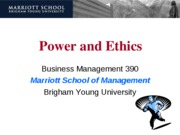 16 - Power and Ethics - blackboard