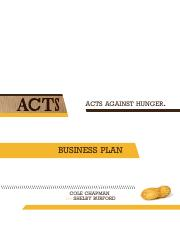 ACTS Business Plan