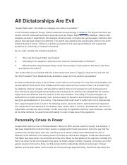 All Dictatorships Are Evil.docx