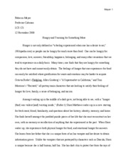 Five Page Paper #2