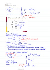 Chem 1AA3 Class Notes Addtional Reactions