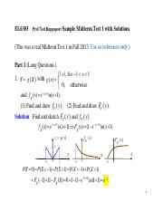 Sample Midterm Test 1 Solu Give to F15
