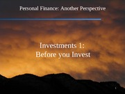14 Investments 1 - Before you Invest 2012-02-22