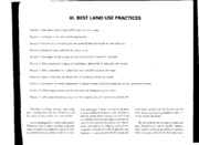 Land Use Practices