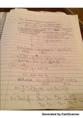 class notes solving radical equations