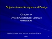 Chapter9_SoftwareArchitecture[upd]
