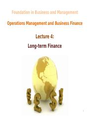 L4 - Long-term Finance (1)