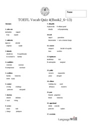 Base TOEFL Test 4(Book2_ 6~13)