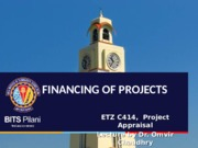 L15 - Financing of Projects