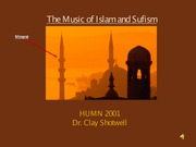 Music of Islam and Sufism