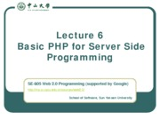 Lecture-06-Basic-PHP-for-Server-Side-Programming