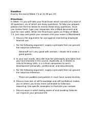 PHIL250 Final Exam Essay Questions Introduced(1).docx