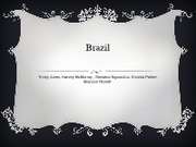 Brazil group project