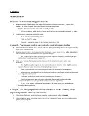 Biol 1107 Ch3 Reading Guide
